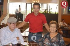 Tomas González, Gregorio González y Josefina González