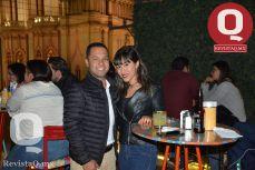 Manolo Morgado y Lourdes Amezquita