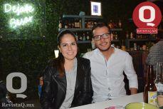 Marisol Falcón y Michel Hernández