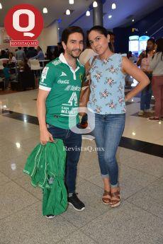 Fabián Torres junto a Janeth Ramírez